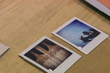 Taller de collage poético impartido junto a Natalia Romay - Foto © Natalia Romay